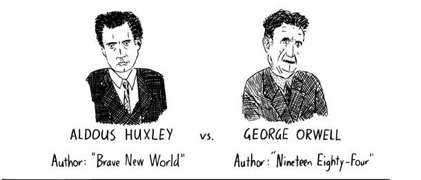 Huxley vs Orwell…
