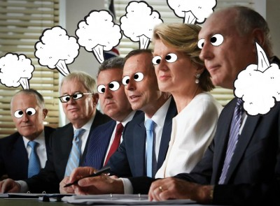 LNP brain farts main contributor to rise in Australia's greenhouse gas emissions